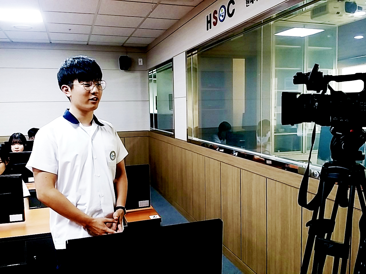 3기 청소년창조공유경제연구단 I TV 촬영현장