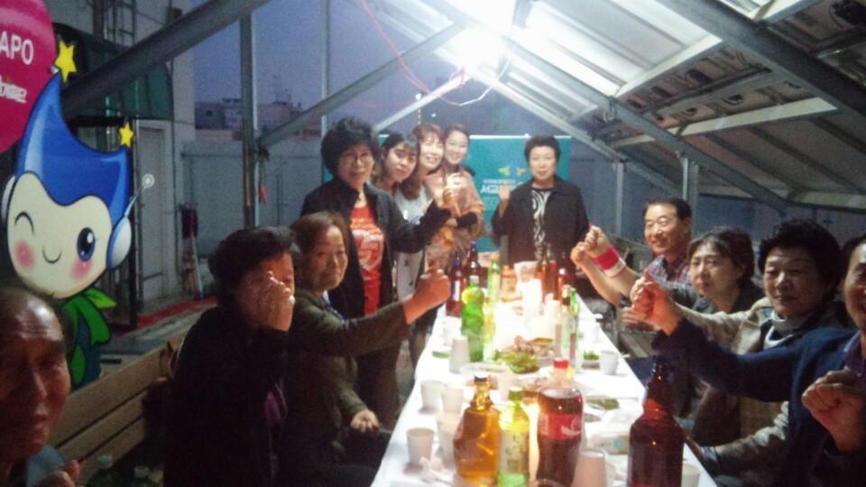 서교동 마을계획단과의 만남_옥상 주민 간담회